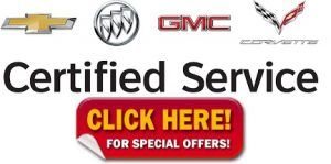 M Chevy GMC Buick Service Offers Specials