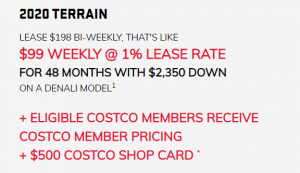 ELIGIBLE COSTCO MEMBERS RECEIVE COSTCO MEMBER PRICING + $500 COSTCO SHOP CARD *