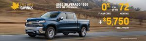 Chev Special Offers Incentives British Columbia Sunshine Coast GM