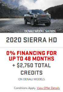 2020 GMC Sierra 2500 Sunshine Coast GM BC