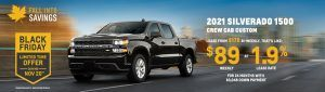 Black Friday Chev Specials Offers Incentives British Columbia Sunshine Coast GM British Columbia