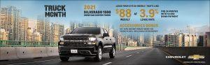 Chevy Truck Month Accessories Bonus Specials Offers Incentives British Columbia Sunshine Coast GM